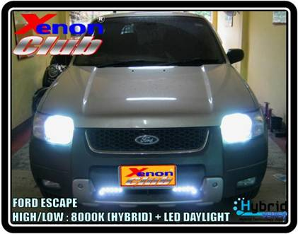 LED DAYLIGHT FORD ESCAPE