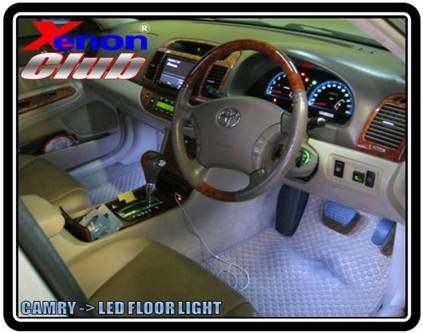 LED FLOOR CAMRY