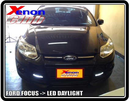 LED DAYLIGHT NEW FORD FOCUS
