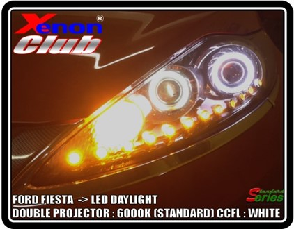 LED DAYLIGHT FORD FIESTA