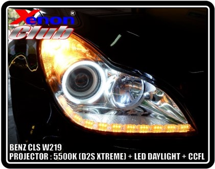 LED DAYLIGHT BENZ CLS W219