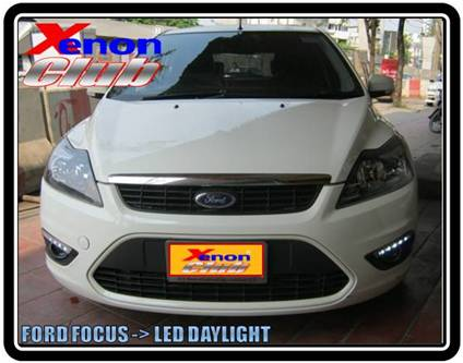 LED DAYLIGHT FORD FOCUS